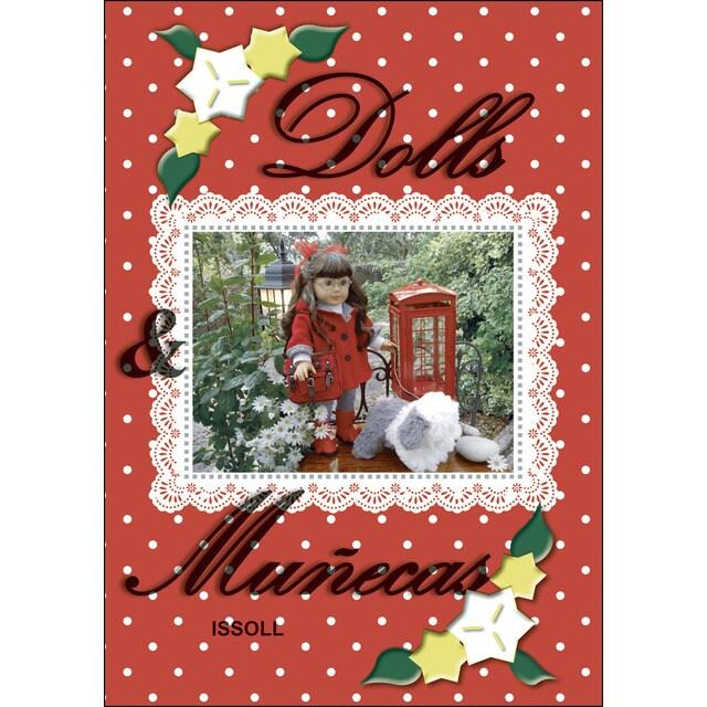 """""""Dolls & Muñecas"""" es un libro de mini historias inspirado en muñecas, que te ayudará a encontrar tu propia creatividad."""