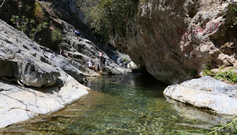 Muere un senderista de 39 años en una poza del barranco del Infierno