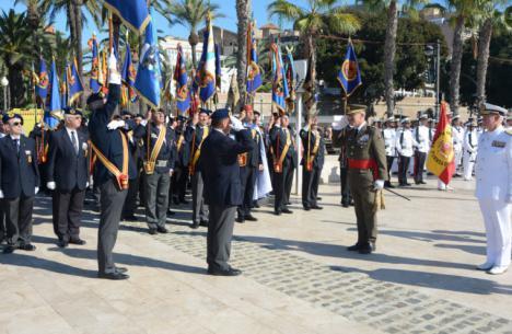 Celebración del Día del Veterano de las Fuerzas Armadas y la Guardia Civil en Cartagena