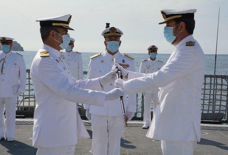 Relevo del nuevo Comandante de las Unidades de la Fuerza Acción Marítima y Comandante Naval de Cartagena