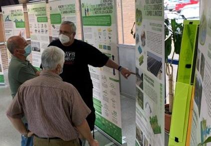 """El IES """"Europa"""" acoge la exposición """"Cambio Climático y proyecto LIFE ADAPTATE"""", dentro de las actividades del Mes del Medioambiente"""