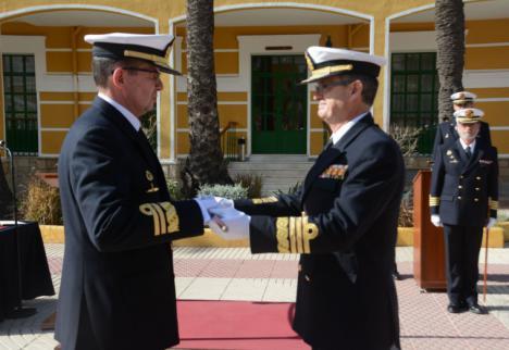 El vicealmirante Pedro Luis de la Puente García-Ganges, nuevo Almirante Jefe del Arsenal de Cartagena