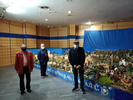 El Belén municipal abre sus puertas en el Centro Comercial Águilas Plaza
