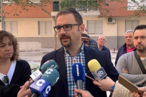 """Diego José Mateos: """"Los vecinos de La Salud no han esperado tanto tiempo la renovación de sus calles para que ahora no se respete sus opiniones incumpliendo la palabra dada"""""""