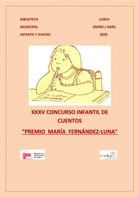 Casi 600 cuentos individuales de Educación Primaria y seis Colectivos participan en el XXXV concurso infantil de cuentos 'Premio María Fernández-Luna'