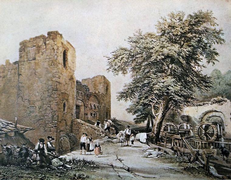 Ruinas y restos del Palacio de Galiana. Alice y Marc Flament.