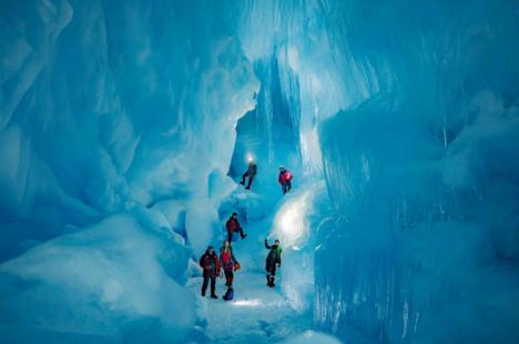 Este es el mundo subterráneo perdido en la Antártida que ha sido descubierto