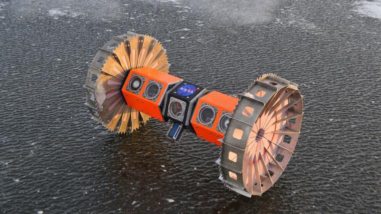 La NASA que explorará océanos en otros planetas gracias al BRUIE un Rover acuático