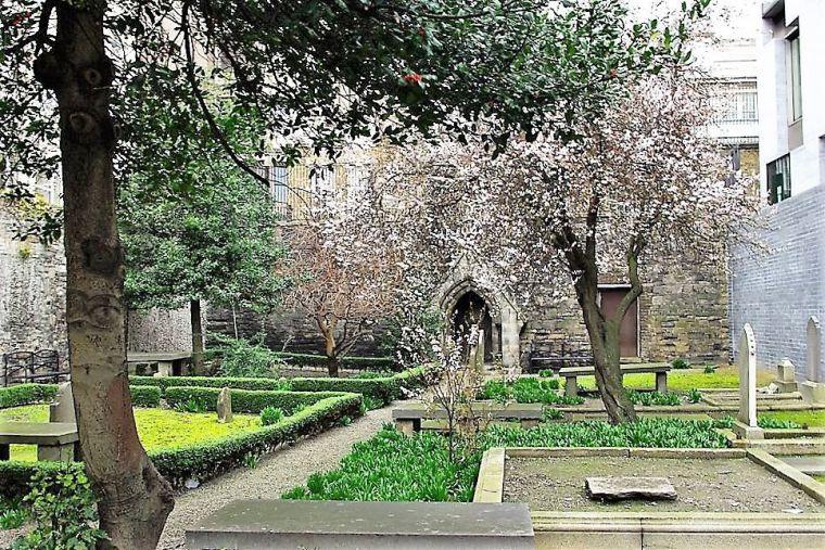 (Ilustración: Cementerio hugonote, Midi francés)