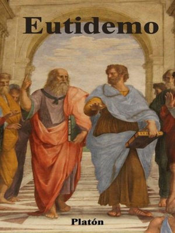 - Aristóteles atribuye la invención de la Erística a Eutidemo, personaje protagonista de uno de los diálogos de Platón en el que se contrapone la dialéctica ética de Sócrates con la sofística demagógica de Eutidemo.