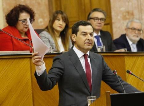 La Fiscalía de Málaga pone los ojos en Moreno Bonilla e investiga el nombramiento de su hermana como directora del conservatorio