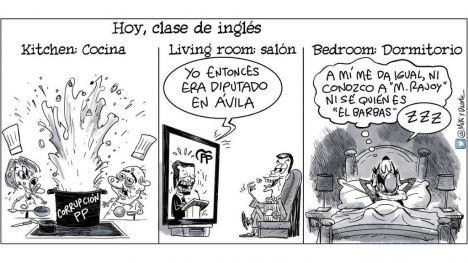 DIRIGENTES DEL PP EXCULPAN A RAJOY Y CARGAN EL