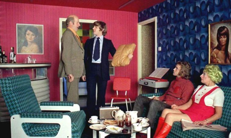 Fotograma de *La naranja mecánica* de Kubrick.