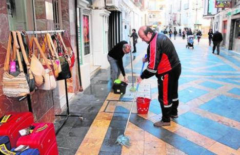El PP de Lorca propone incluir en la Mesa del Casco Histórico el proyecto de revitalización comercial de la calle Corredera