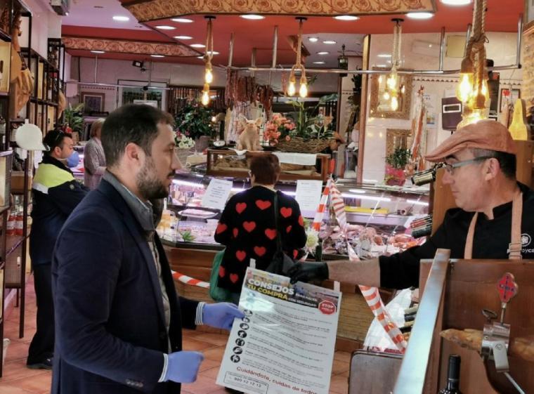 El Ayuntamiento de Lorca recomienda a los ciudadanos planificar sus compras debido a la proximidad de días festivos