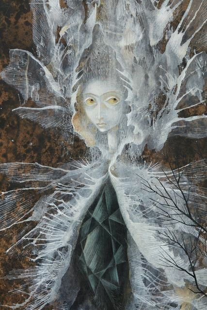 'La mujer libélula', 1961. Remedios Varo