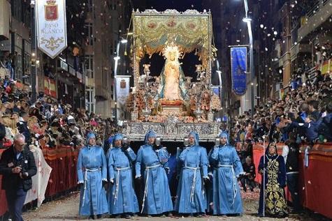 """El Paso Azul de Lorca organiza 'Azul XXI', """"una revolucionaria exposición extraordinaria que hará que todos sintamos un poco más cerca esta Semana Santa de 2021"""""""