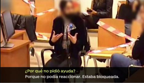 Alejandra, acusada de acabar con la vida del hijo de su pareja en Elda dice que el pequeño se atragantó con el jamón