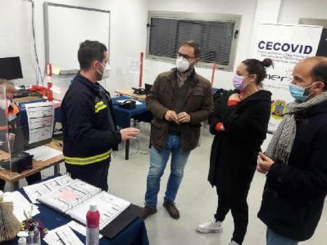 El alcalde de Lorca convoca urgentemente la Comisión de Seguimiento de COVID-19 para mañana, jueves 14 de enero, ante el incremento de casos por coronavirus en el municipio