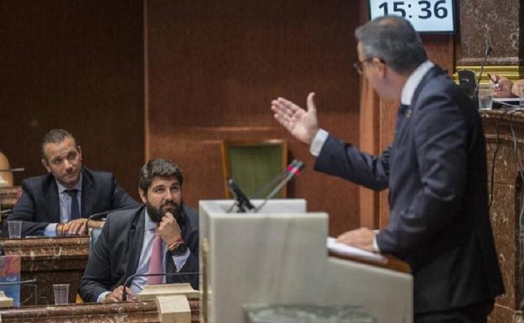 Francisco Lucas: 'El presidente escenificó el desgobierno de la Región protagonizando un nuevo desaire del Partido Popular contra el Mar Menor'