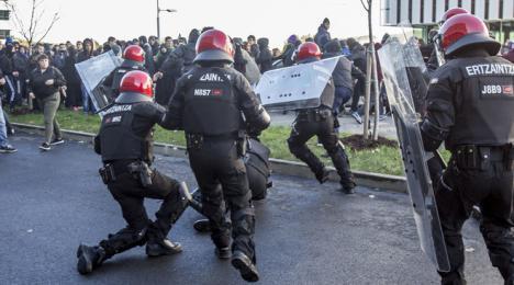 Los seis detenidos en Bilbao durante una protesta se verán ante el juez