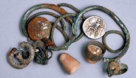 El tesoro de la época de Alejandro Magno que se descubrió en Israel por casualidad
