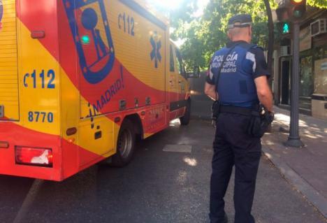 Nuevo crimen por violencia de género en Madrid : La mujer fue asesinada a cuchilladas y golpes en la cabeza