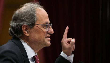 Pedro Sánchez exige que Torra comparezca en el Parlament para dar explicaciones tras las declaraciones de los CDR