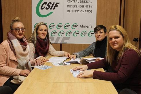 Las mujeres almerienses ganan un 14% menos que los hombres, según denuncia CSIF con motivo del día de la Igualdad Salarial