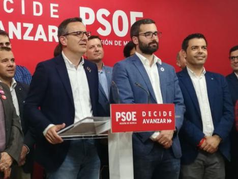 """Diego Conesa: """"Seguiremos trabajando por la Región que nos merecemos: más justa, sostenible y por una mejor gestión de la sanidad pública"""""""
