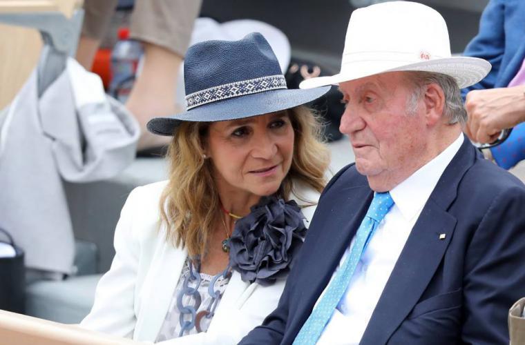 Juan Carlos I y su hija Elena de cacería cuando ya se conocía la crisis sanitaria