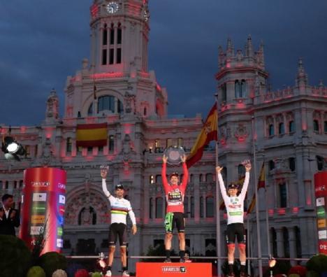 Termina la Vuelta Ciclista a España con el triunfo de Primoz Roglic