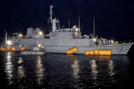 """La Armada recuperará el cazaminas """"Turia"""""""