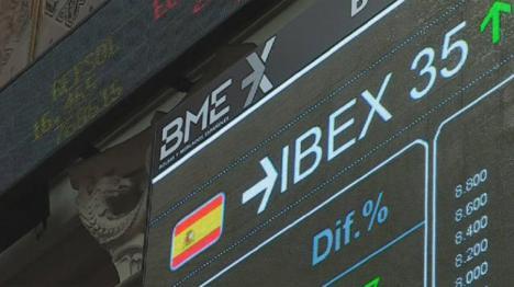 El Ibex gana un 11,8% en su mejor año desde 2013