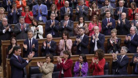 Pedro Sánchez a pesar de la derecha, Presidente del Gobierno