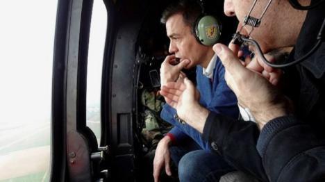 Fin a la polémica del helicóptero usado por Sánchez no estaba previsto en las labores de búsqueda. El delegado del Gobierno en Baleares desmiente la información de ABC