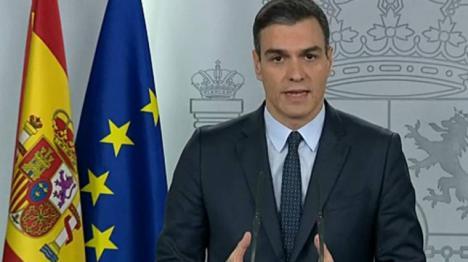 Sánchez anuncia un nuevo paquete de medidas para reforzar la lucha de España contra el coronavirus