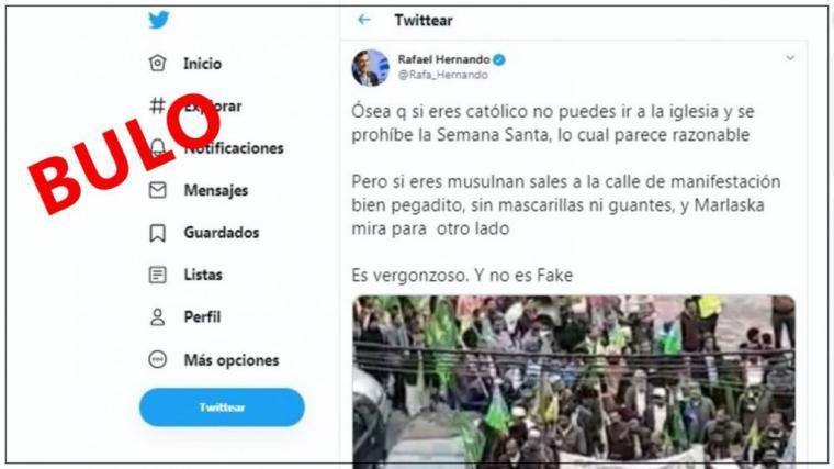 RAFAEL HERNANDO NOS VUELVE A SORPRENDER CON OTRA FAKE NEWS