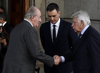 EDITORIAL: Una más del Emérito, mientras el ejecutivo y la judicatura española miran al suelo para no ver