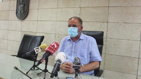 Totana, aislada por el aumento de casos de coronavirus