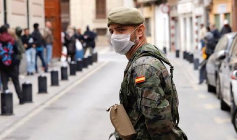 Diego Conesa pide a López Miras que acepte la disposición de militares por parte del Gobierno de España para la labor de rastreo