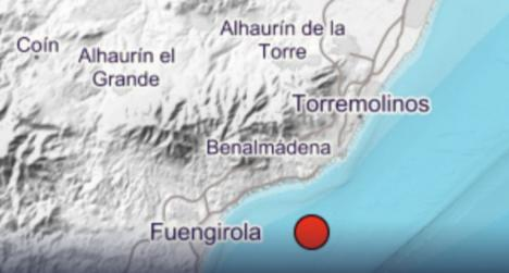 Benalmádena epicentro de un terremoto de 4,1 de magnitud