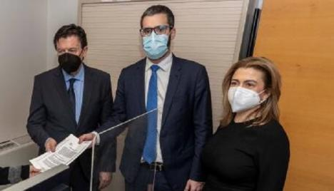 """Lucas: """"Hay que acabar con las políticas corruptas del PP en Murcia y limpiar las instituciones que han manchado las manos de López Miras, Ballesta y Teodoro García"""""""