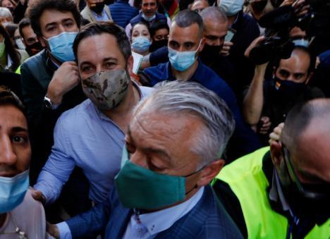 Abascal pone en peligro a los murcianos al atentar contra la salud pública