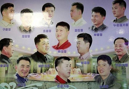 Peinados autorizados en Corea del Norte