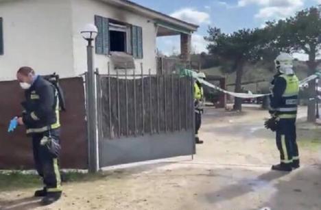 Aparecen muertos con heridas de bala dos adultos y una niña, tras el incendio de casa