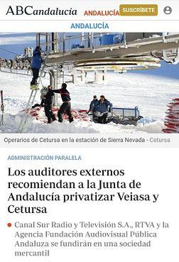 Portada de ABC Andalucía
