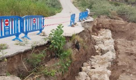 Finalizan las obras en el Puente de las Pulgas y en el Camino de las Palomas