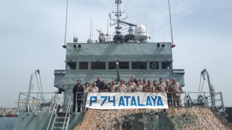 El 'Atalaya' colabora en Dakar con las Fuerzas Armadas de Senegal