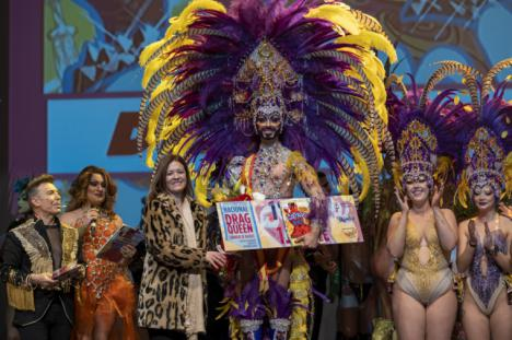 Perseida se convierte en la ganadora de la gala Drag Queen del Carnaval de Águilas